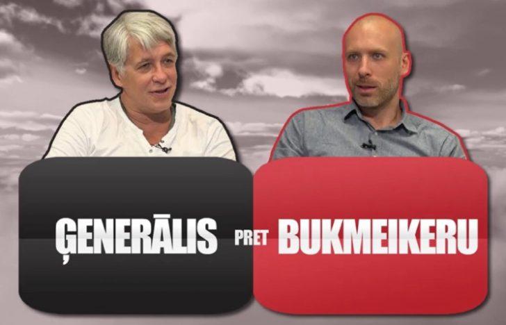 Ģenerālis liek uz Brazīliju, Bukmeikers uz Franciju