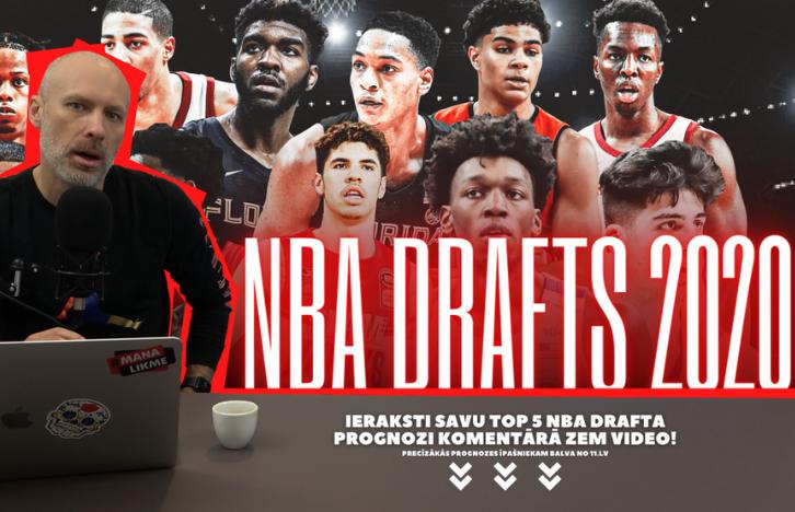 Bukmeikers | 2020. gada NBA Drafta Analīze + KONKURSS!