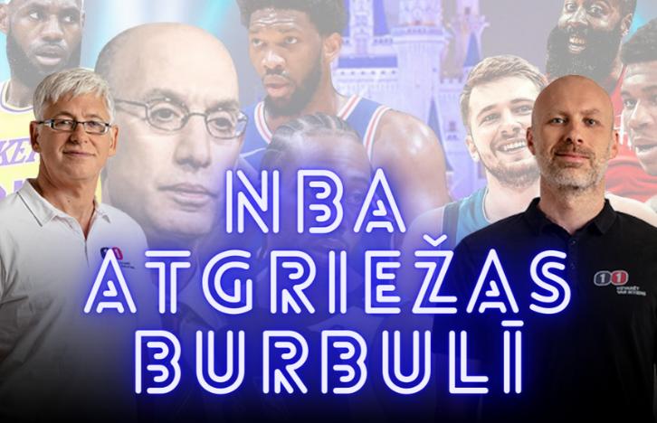 Ģenerālis vs. Bukmeikers | 2020 NBA Atgriežas Burbulī | Podkāsts