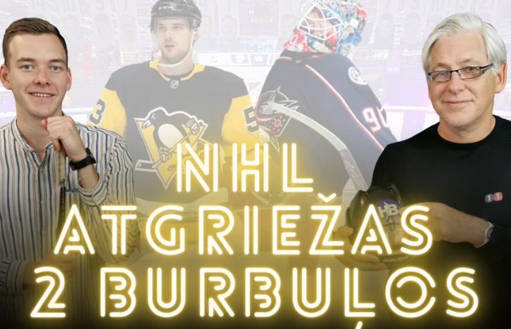 Ģenerālis vs. Lotārs | NHL Atgriežas Divos Burbuļos | Podkāsts