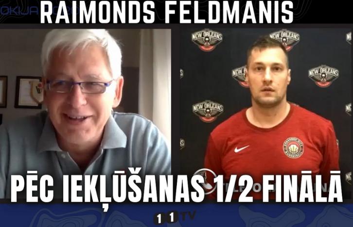 Saruna ar 3×3 Treneri Raimondu Feldmani pēc Iekļūšanas 1/2 Finālā