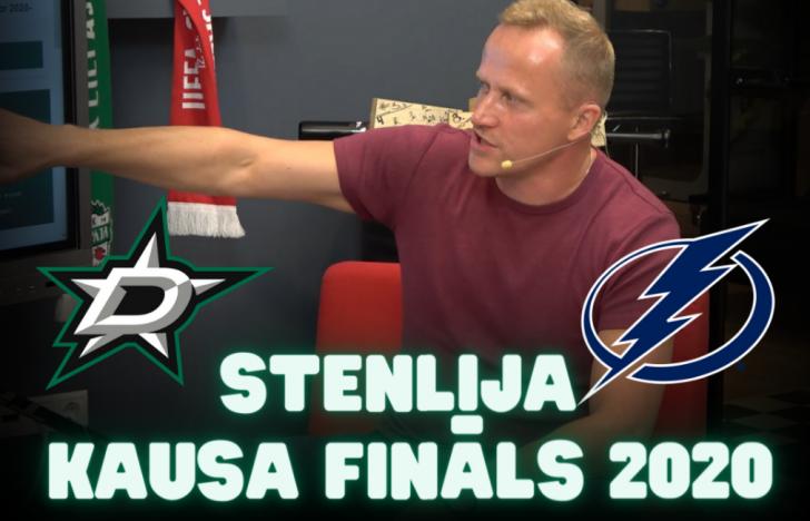 Artis Ābols vs. Lotārs Zariņš | NHL Stenlija kausa fināls 2020 | PODKĀSTS