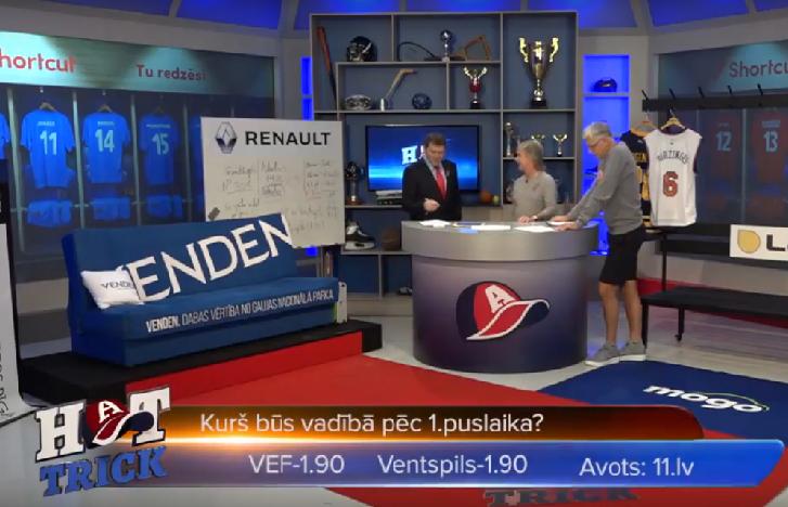 """Hattrick: Kas būs vadībā pēc pirmā puslaika VEF un """"Ventspils"""" derbijā?"""
