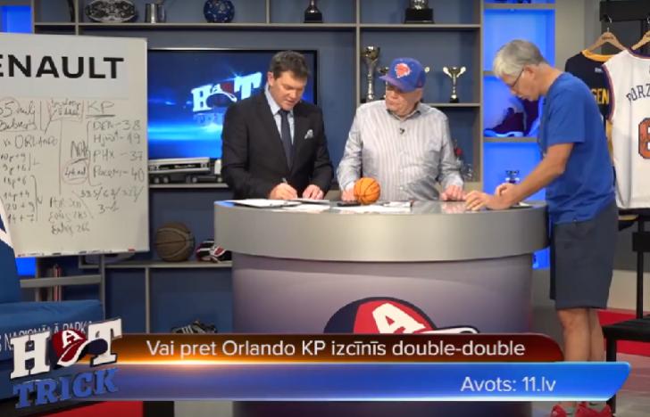 "Hattrick: Vai Porziņģim Orlando būs ""double-double""?"