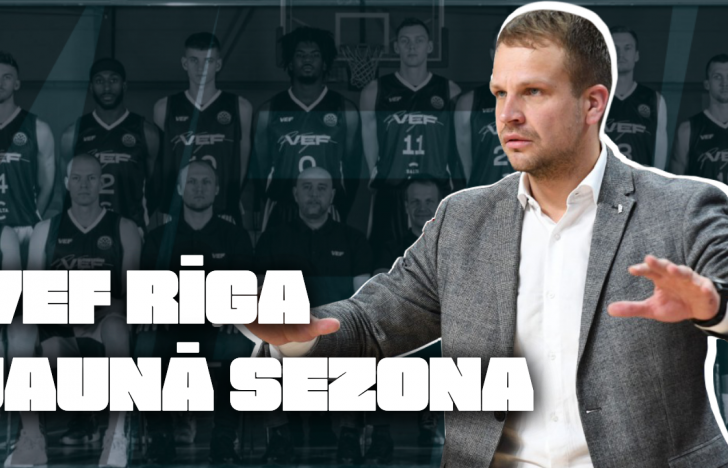 Ģenerālis ar Jāni Gailīti | VEF Rīga Jaunā Sezona